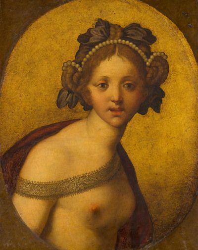 Female Figure (A Goddess?)   1550 - 1500   Mauritshuis   Public Domain