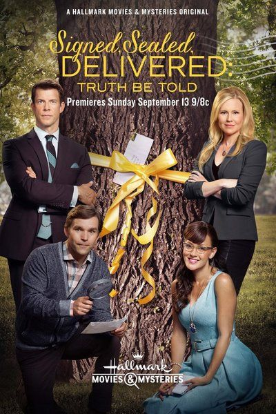 Hallmark Movies and Mysteries' Signed Sealed Delivered: Truth Be Told wins PTC Seal of Approval