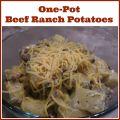One-Pot Beef Ranch Potatoes recipe