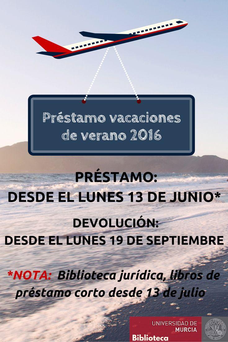 Préstamo vacaciones de verano 2016.