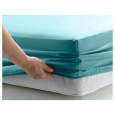 FITTED SHEETS PERCALE SINGLE DOUBLE KING SUPER KING SIZE POLYCOTTON ON SALE