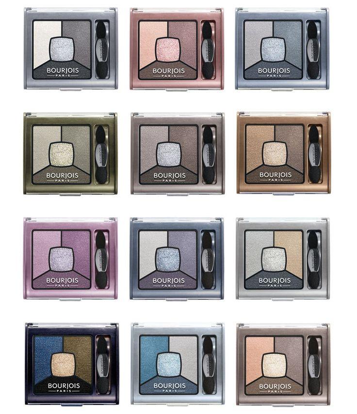 BOURJOIS PARIS SMOKY STORIES QUAD PALETTE EYE SHADOW 12 DIFFERENT EYESHADOW | Health & Beauty, Makeup, Eyes | eBay!