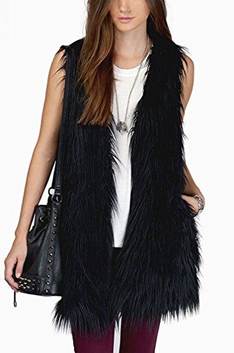 St. L'amour Women Fashion Faux Fur Vest Coats Outwear Black XXs St. L'amour http://www.amazon.com/dp/B014CZ98EM/ref=cm_sw_r_pi_dp_Our3vb1Y5KMJ7