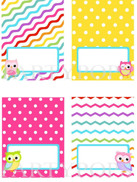 free owl printables | ... tent card, Owl Party, PRINTABLE, Owl Decoration, INSTANT DOWNLOAD