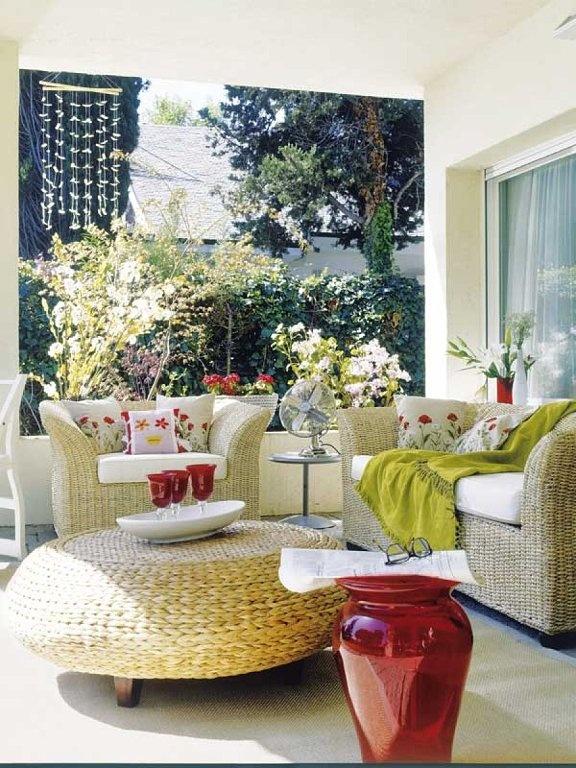 Balcones y terrazas decorar tu casa es for Decoracion de terrazas y balcones