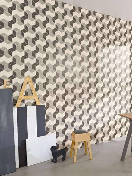 Wall tiles / floor tiles EMMA by @A Whole Lotta Love Tiles #interiors #ABC #wall