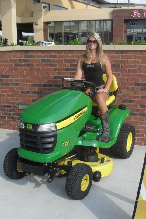 John Deere Babes : Best girls with tractors images on pinterest