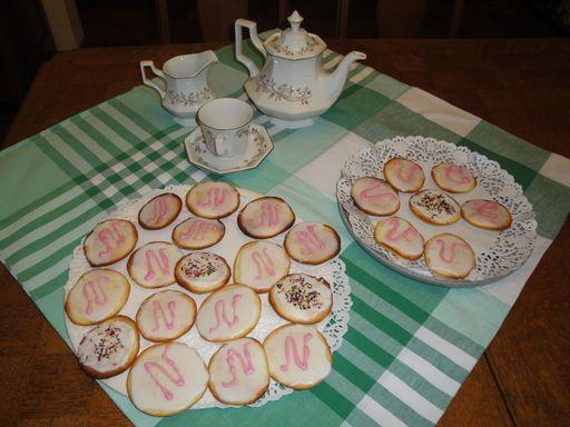 Recette de Palets de dame des pâtisseries du Nord