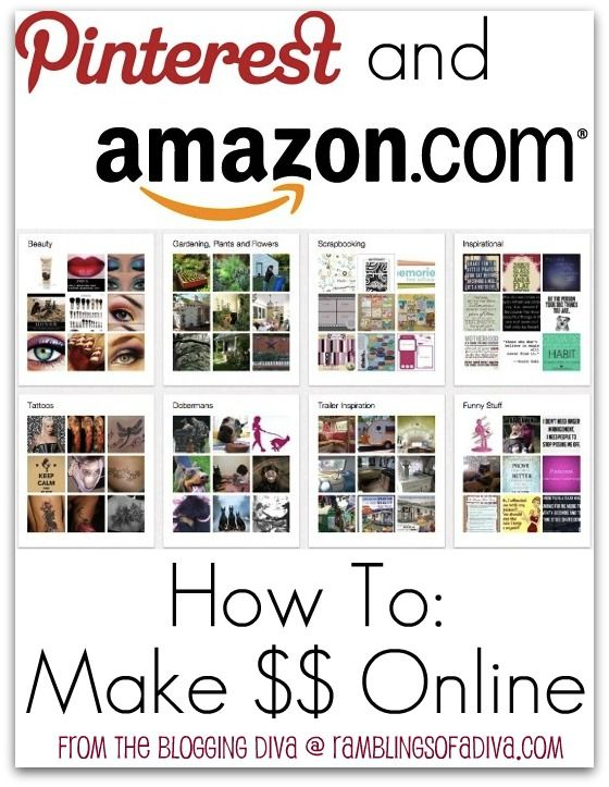 How To: Make money with Pinterest and Amazon