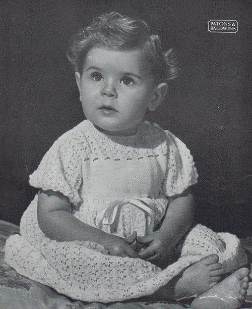 Free Patons Baby Knitting Patterns : Les 55 meilleures images a propos de layette ancienne sur Pinterest