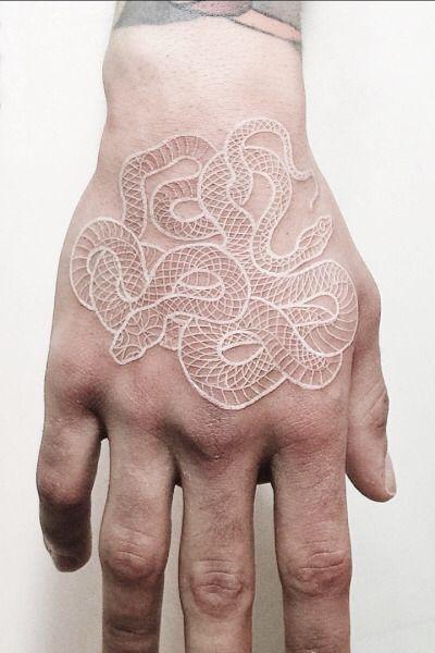 #whitetattoo #tattooidea #tattoosketch #tattoodesign   White tattoos, tattoo ide…