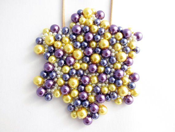 """""""Star"""" Handmade Statement Necklace"""