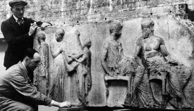 Πυρφόρος Έλλην: Σαν σήμερα 31 Ιουλίου 1801 ο λόρδος Έλγιν κλέβει τ...