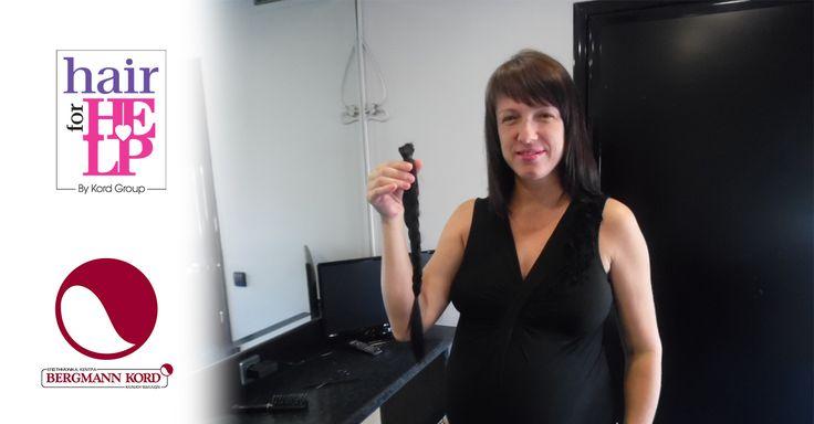 Ανοίγοντας πανιά για την... Αλληλεγγύη  Η κα Θεοδώρα Ταντσοπούλου, έμαθε για το «HAIR for HELP» στο ιστιοπλοϊκό event «SAIL for PINK»  και αμέσως... άνοιξε πανιά για την αλληλεγγύη! Έτσι, τον Αύγουστο πέρασε την πόρτα της Bergmann Kord στη Θεσσαλονίκη δωρίζοντας 20 εκατοστά από τα μαλλιά της για κάποιον άνθρωπο που βρίσκεται σε ανάγκη!