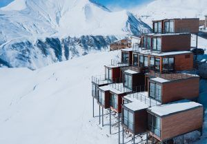 Read about the Ski Resort made from Shipping Containers! https://containertraders.com.au/blog/quadrum-ski-yoga-resort/