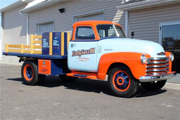 1948 CHEVROLET  1 TON STAKE BED TRUCK