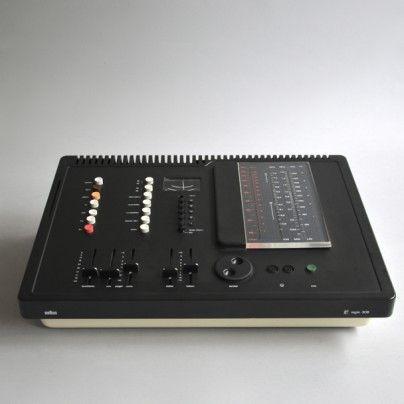 Braun regie 308 control unit Dieter Rams 1973
