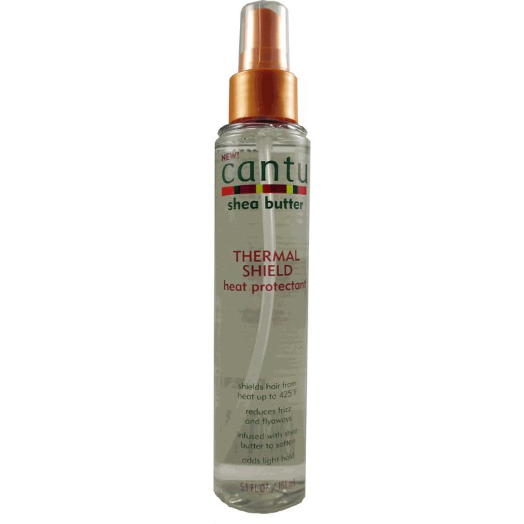 Cantu Shea Butter Thermal Shield Heat Protectant - 5.1oz spray