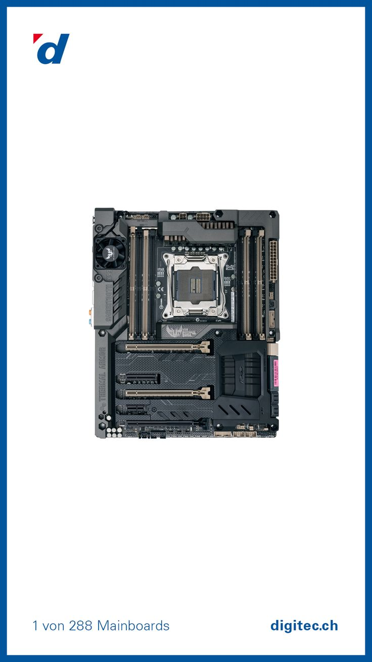 ASUS Sabertooth X99 Mainboard, LGA 2011-v3, Intel X99, ATX #Digital #digitec