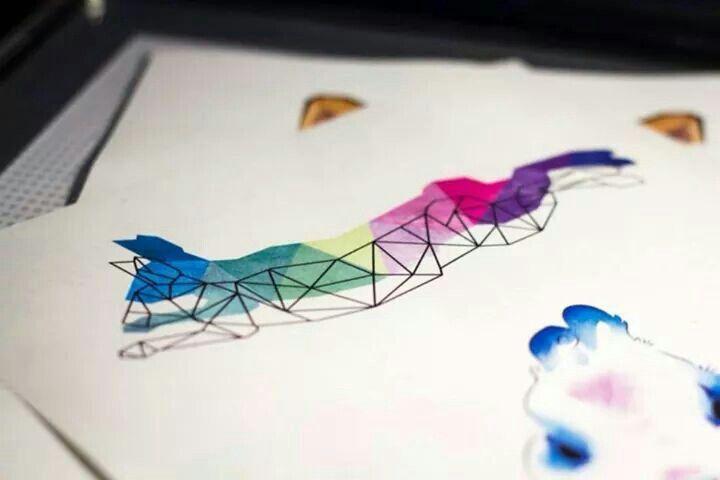 Tattoo idea from Ula Metzge, Rock n Ink Tattoo, #colortattoo #tattoo #rabbittattoo