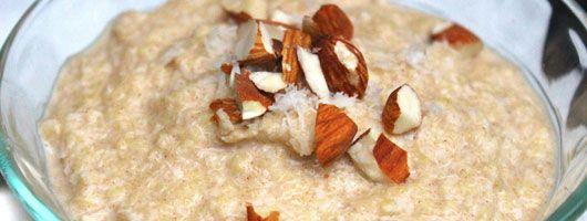 Paleo Breakfast Oats a healthier breakfast option without eggs  #PaleoOats