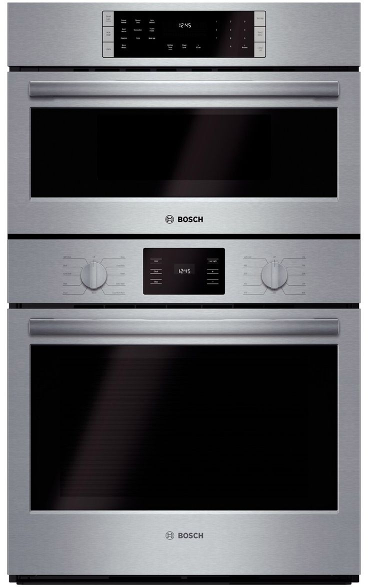 A Newly Designed and Engineered Bosch Combination Oven Featuring a Speed Oven…