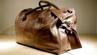 sac de voyage cuir homme