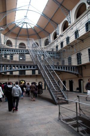Kilmainham Gaol jail. Dublin.
