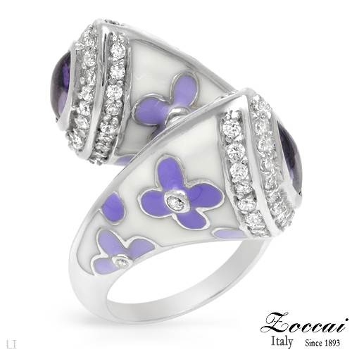 Ring - #ZOCCAI #Amethyst Sterling Silver #Ring $150