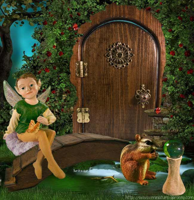 Sun Opening Fairy Door