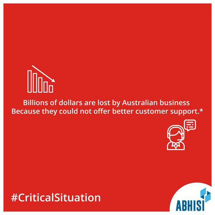 #Attention  Businesses in #Australia are losing customers because of poor customer service.  #CommunicationGaps are the root cause! *information discovered on #PeoplePulse Do not let your business suffer - get better at #customerservice with @abhisi  https://www.abhisi.com/