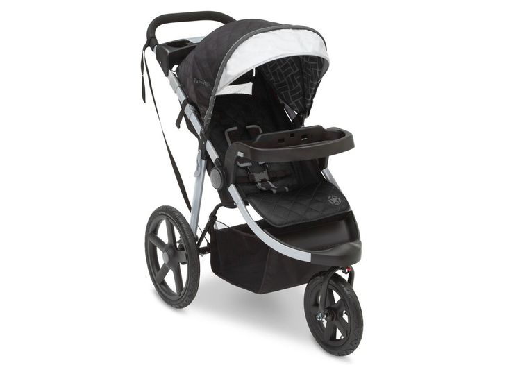 Make tracks! Adventure awaits your little explorer with the J is for Jeep® Brand Adventure All-Terrain Jogging Stroller. Designed to provide your child comfort while you stroll, speed walk or jog acro