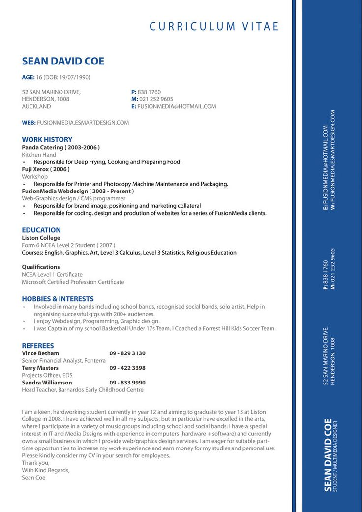 27 best In need of RESUME EXAMPLES images on Pinterest Resume - hobbies resume examples