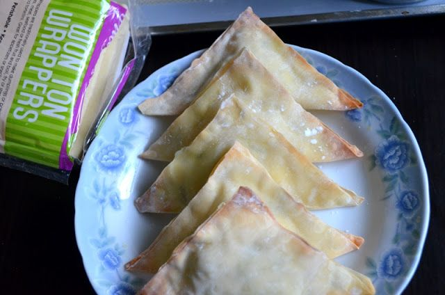 For the Love of Dessert: Skinny Jalapeno-Cream Cheese Wontons