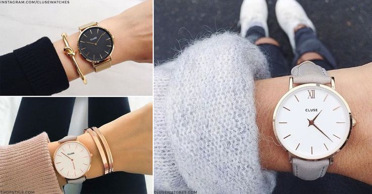 Remember Toy watches? It's funny how trends change – gone are the days of bold, Lego-inspired wrist candy and instead reigns the pared-back, Scandi-style timepiece. Whether stacked with delicate gold chains or worn alone with tanned limbs, the luxe, monochrome watch has been a staple of enviable Insta accounts for a while now. Been wondering how to get the look? We've run down all the need-to-know brands to help you up your accessories game.