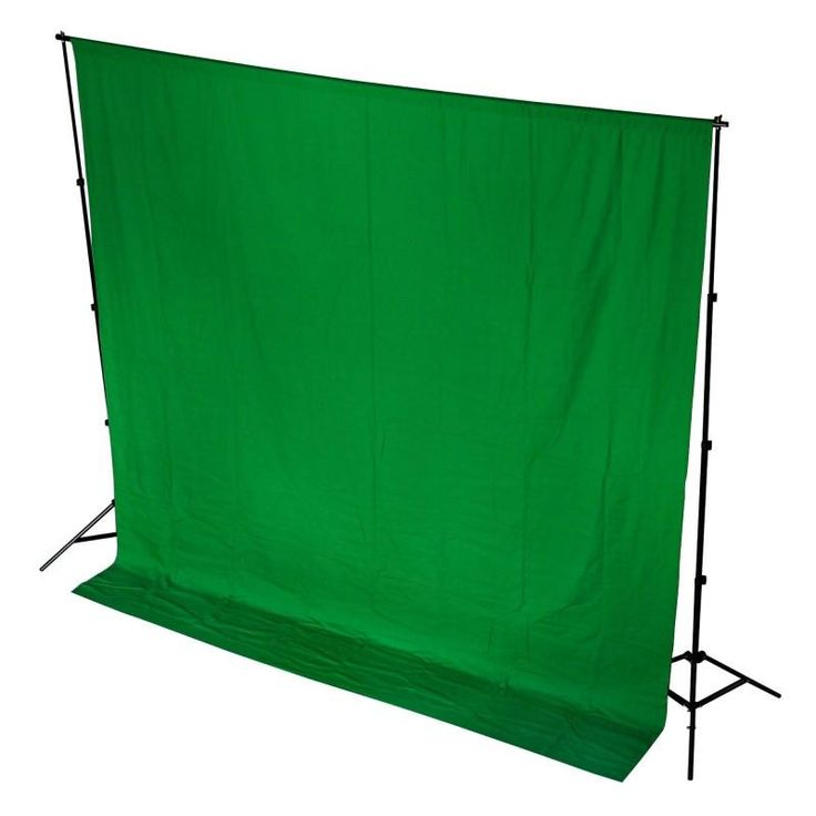 Hypop Chroma Key Green Screen 3M x 6M Cotton Muslin Backdrop
