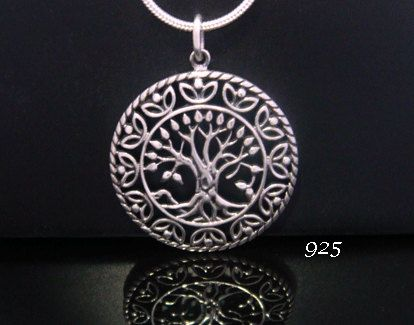 20% OFF  Tree of Life Necklace: Celtic Design Sterling Silver ... stunning necklace pendant available at https://www.etsy.com/shop/MyTreeOfLifeJewelry and www.TreeOfLifeJewellery.com