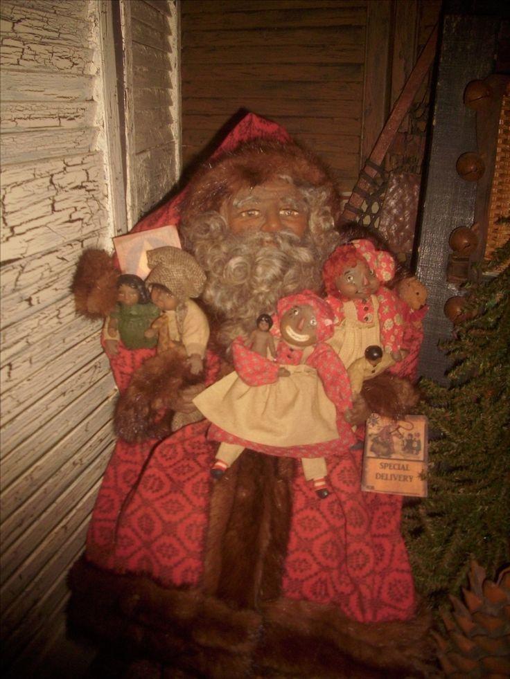 African American Santa claus Chocolate santa, Christmas