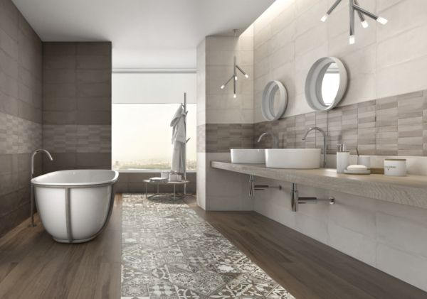 Carrelage argenta ceramica camargue tendance 2016 for Salle de bain ceramique photo
