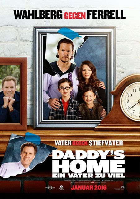 Watch Will Ferrell in Daddys Home - co-starring Mark Wahlberg - Paramount Pictures - kulturmaterial