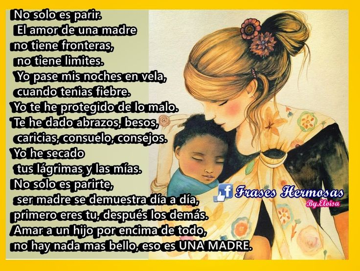 Frases Para Mama: 17 Best Images About Pensamiento Ser Mama On Pinterest