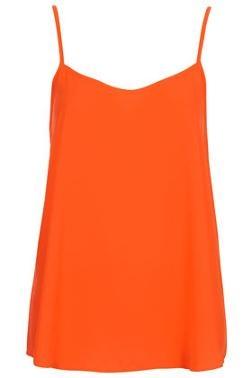 Orange strappy top | topshop