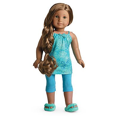 American Girl Doll Kanani | Details about NEW NIB American Girl Kanani's Pajamas PJ for Doll 2011