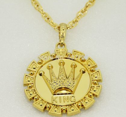 Gold King Necklace $9.99USD