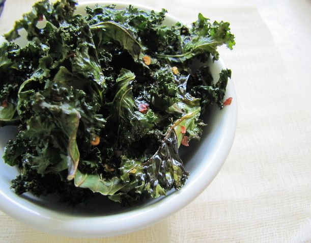 Spicy Kale Chips, So trying this tomorrow!  found at http://www.fettlevegan.com/4/post/2012/03/kale-chips-3-ways.html#