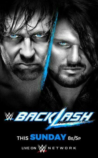 Backlash Dean Ambrose put WWE World Heavyweight Champion on the line against AJ Styles