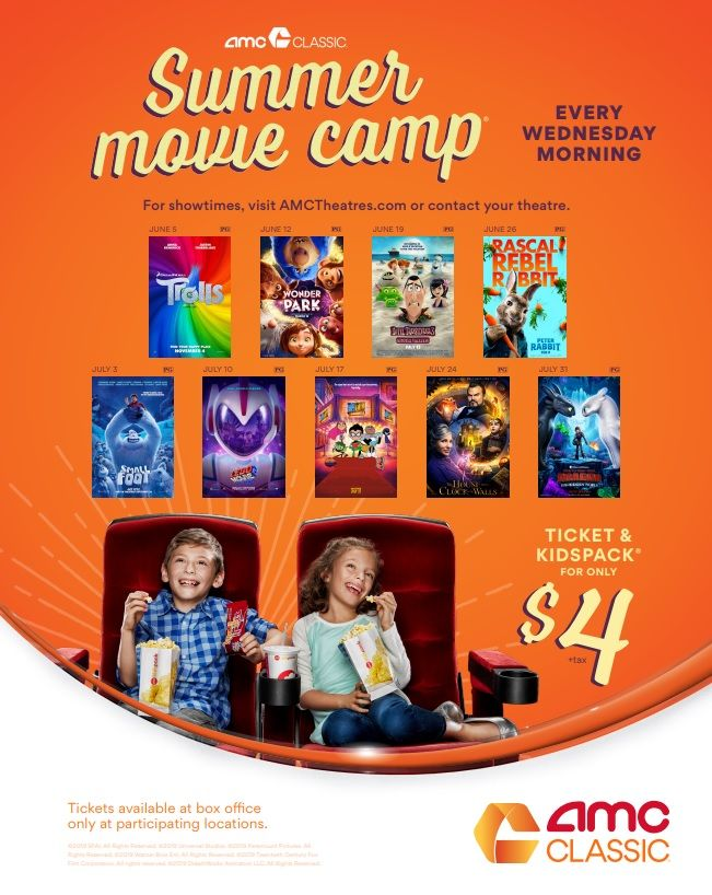 Amc Summer Movies For Kids Deal My Boys And Their Toys Summer Movie Kid Movies Amc Movies