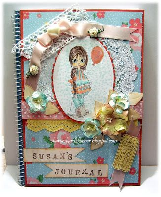 Sharon's Kardz Korner: An Altered Notebook