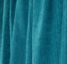 Solid blue chenille outdoor fabric with a slight striped pattern. OD Surfside Mediterranean from P Kaufmann can be used for draperies, pillows and lightweight upholstery.