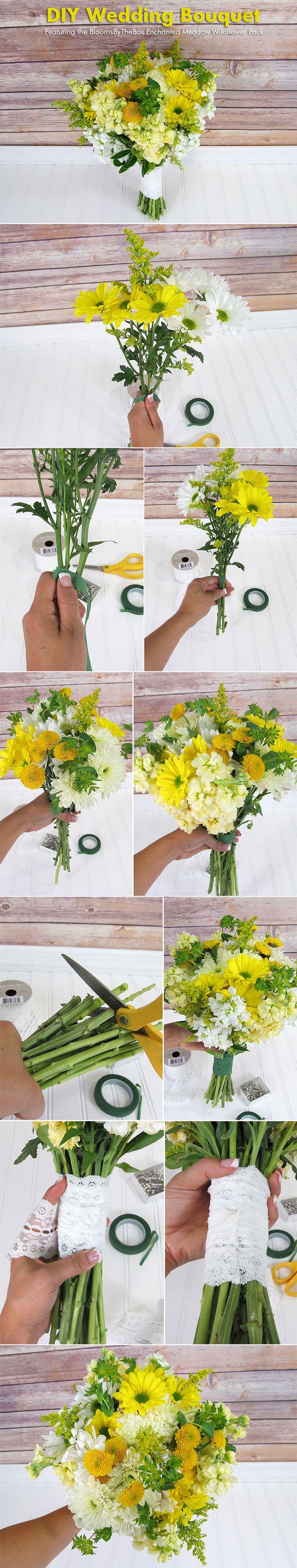 Make A Wildflower Bouquet